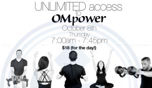 OMpower logo